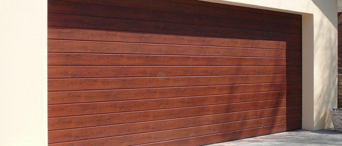 Cape Oak Aluminium Garage Doors